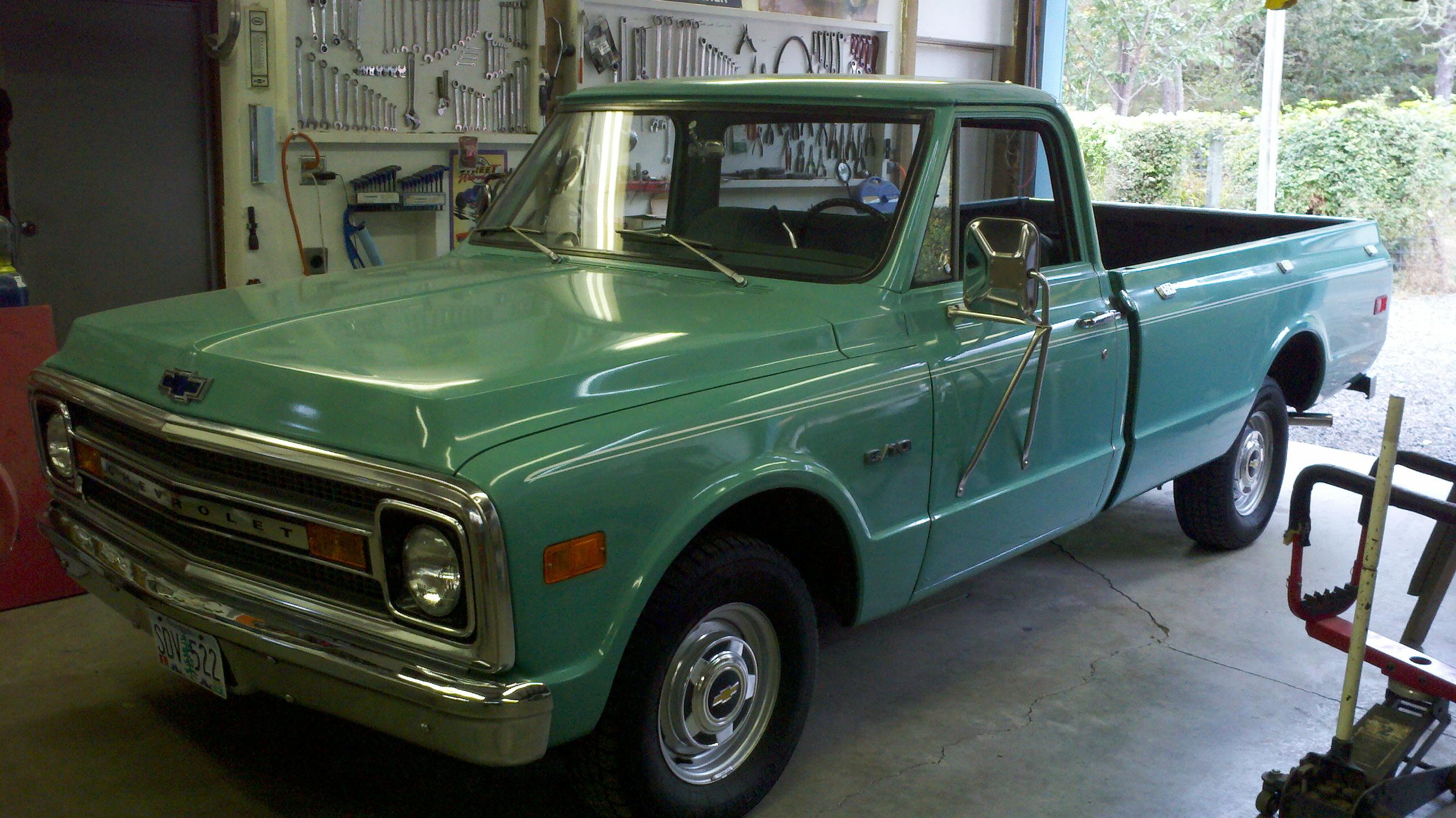 Sheridan Mock's 1969 Chevy Long/Wide Pickup